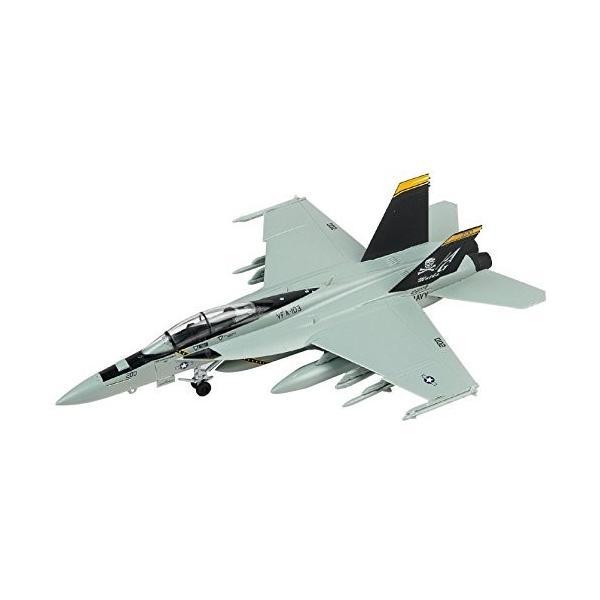 童友社 1/72 凄プラモデル No.3 アメリカ海軍 F/A-18F スーパーホーネット VFA-103 ジョリーロジャース 色分け済みプ|idr-store|08
