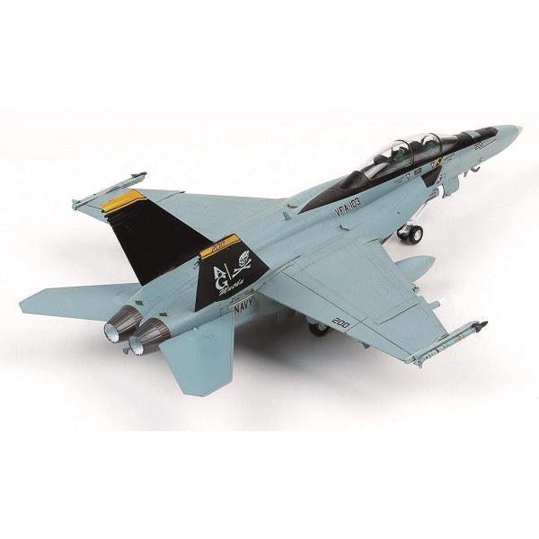 童友社 1/72 凄プラモデル No.3 アメリカ海軍 F/A-18F スーパーホーネット VFA-103 ジョリーロジャース 色分け済みプ|idr-store|09
