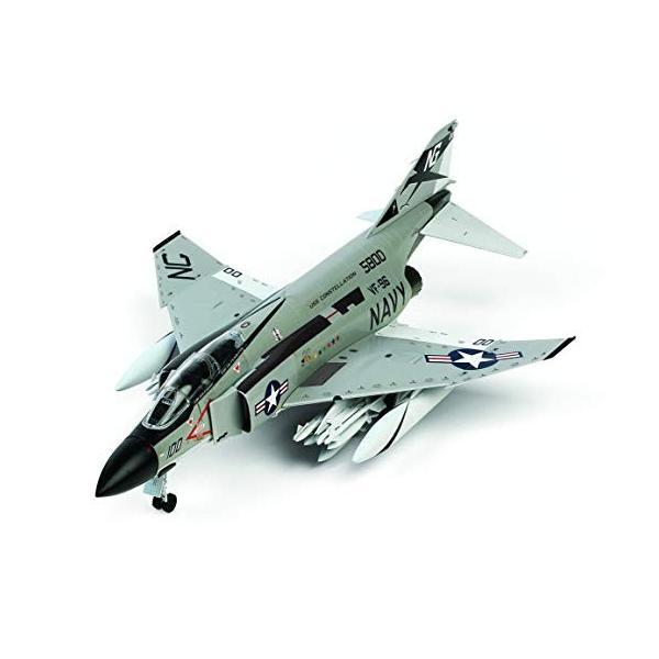 童友社 1/72 凄プラモデル アメリカ海軍 F-4JファントムII ショータイム100 色分け済みプラモデル 72-F4J-4500 idr-store