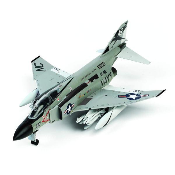 童友社 1/72 凄プラモデル アメリカ海軍 F-4JファントムII ショータイム100 色分け済みプラモデル 72-F4J-4500 idr-store 03