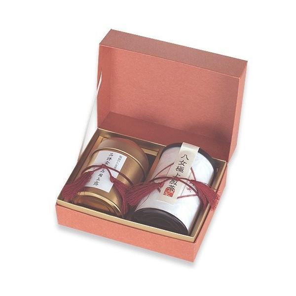 お茶 ギフト プレゼント お土産 八女茶 玉露 煎茶 H-2T87 八女茶の里 idr-store 03