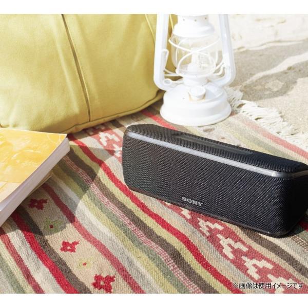 ソニー SONY ワイヤレスポータブルスピーカー SRS-XB41 : 防水・防塵・防錆/Bluetooth/専用スマホアプリ対応 ライティ