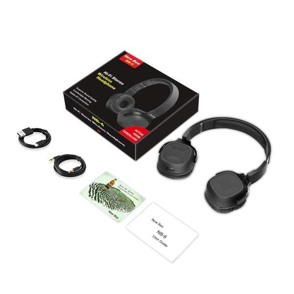 アクティブなノイズキャンセルBluetoothヘッドフォン新しいビー70HプレイタイムANCワイヤレスヘッドフォン(マイク付き)Siri V