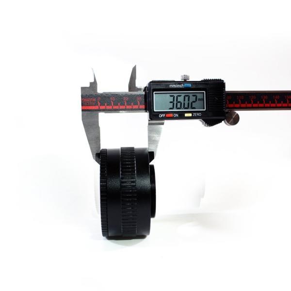 (バシュポ) Pixco M52 M42レンズ焦点調整式ヘリコイドマクロチューブアダプター 36mm-90mm