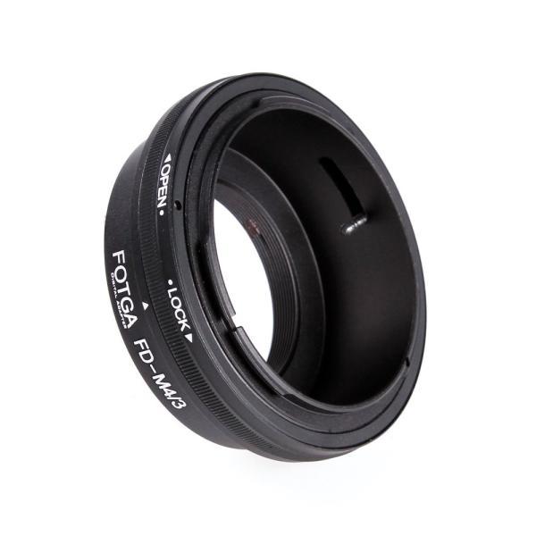 FOTGA FD-M4/3 マウントアダプター FDレンズがM4/3マウントカメラに