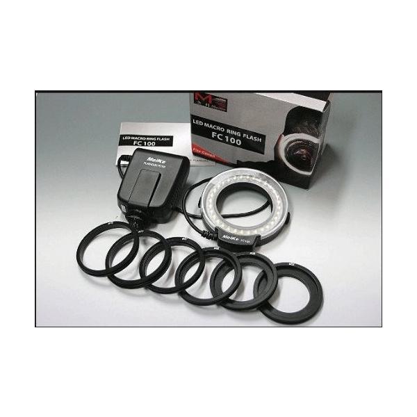 Panasonicミラーレス系レンズ用アダプターリング付属 LEDマクロリングFLASH GN15 セット