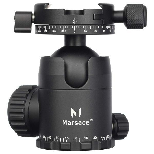 MARSACE (マセス) 自由雲台 FB-2R パンニングクランプ付 100031 アルカスイス互換 アルミ製 フリクションコントロールシ