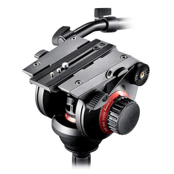 Manfrotto プロフルードビデオ雲台 75mm 504HD
