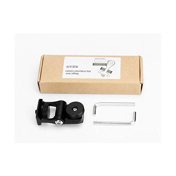 Ulanzi U-40 モニターホルダーマウント カメラ用ホットシューマウント LEDビデオライト用