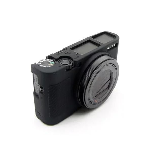 kinokoo SONY ソニー DSC-RX100M5 / RX100M3 / M4 / M5 / M6 デジタルカメラ専用 シリコンカバ