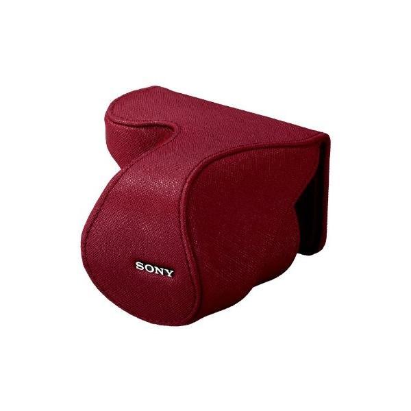 ソニー SONY レンズジャケット レッド LCS-EML2A/R