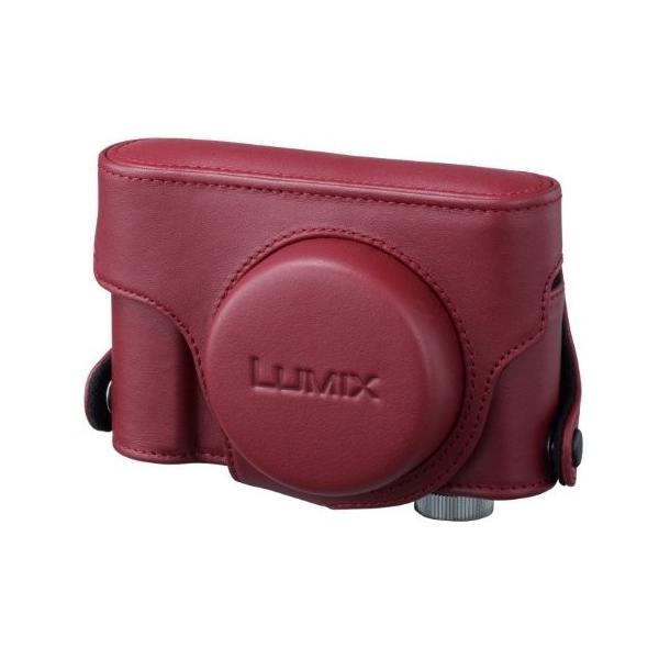 パナソニック デジタルカメラケース LUMIX LX5専用本革ケース レッド DMW-CLX5-R