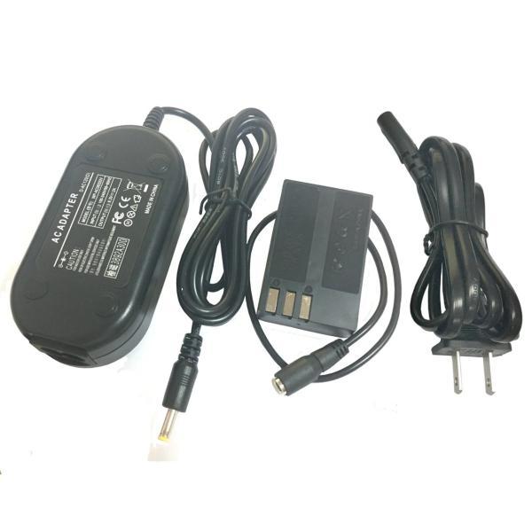 K-AC128 AC電源アダプターサプライキット(For Pentax K-2、K-30、K-50、K-R&More SLRカメラ用)