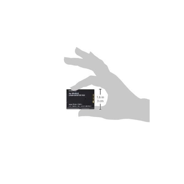 ENERG デジタルカメラ用バッテリー Nikon EN-EL2対応 N-#1075