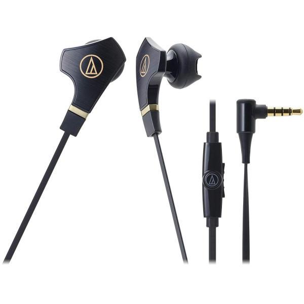 audio-technica SONICFUEL イヤホン スマートフォン用 ブラック ATH-CHX7iS BK