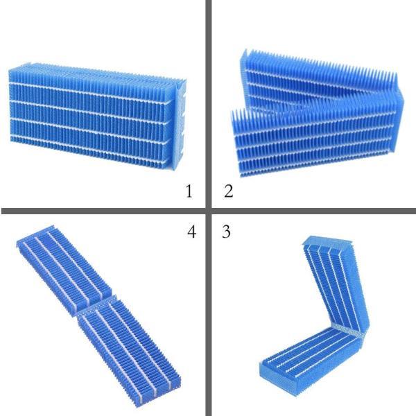 抗菌気化フィルター H060518/H060511/H060509 と互換性のある加湿器フィルター互換品 4枚入り