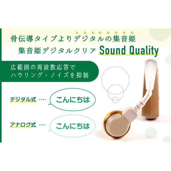 Medicy(メディサイ) 耳掛けタイプの集音器 集音姫 充電式 左右両用 HA-RC2|idr-store|05