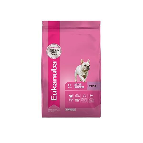 ユーカヌバ ドッグフード 体重管理 成犬用 1歳以上 小型犬用 チキン 800g|idr-store