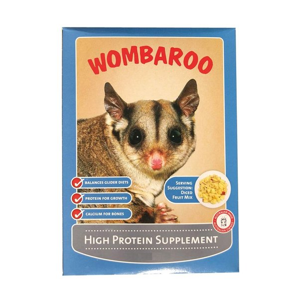 WOMBAROO(ウォンバルー) HPSモモンガ用フード 250g High Protein Supplement(ハイプロテインサプリメン|idr-store