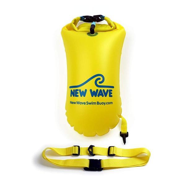 New Wave Swim Buoy スイムブイ 水泳ブイ オープンウォータースイマー、トライアスロン、トライアスリート用軽量ブイ トレーニ|idr-store|06