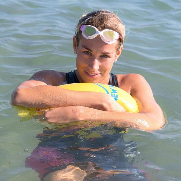 New Wave Swim Buoy スイムブイ 水泳ブイ オープンウォータースイマー、トライアスロン、トライアスリート用軽量ブイ トレーニ|idr-store|07