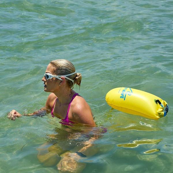 New Wave Swim Buoy スイムブイ 水泳ブイ オープンウォータースイマー、トライアスロン、トライアスリート用軽量ブイ トレーニ|idr-store|10