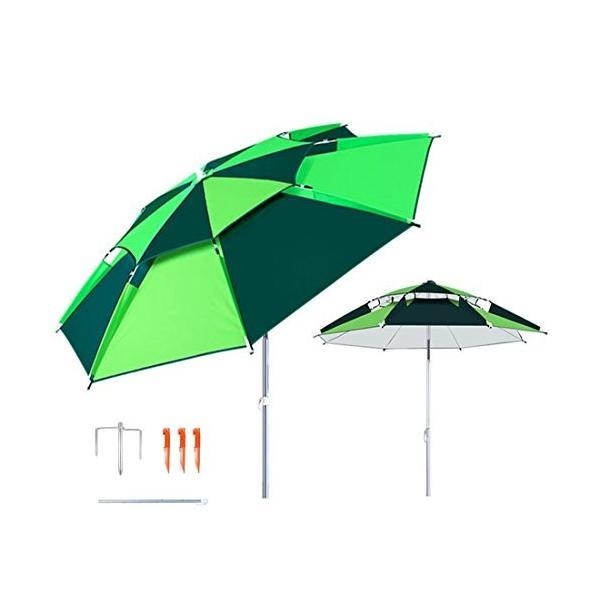 パラソル チルト機能付 角度調節 折り畳み式 シルバーコーティング UVカット アルミ製 椅子用傘 コンパクト収納 360度回転 炭素繊維の|idr-store|02