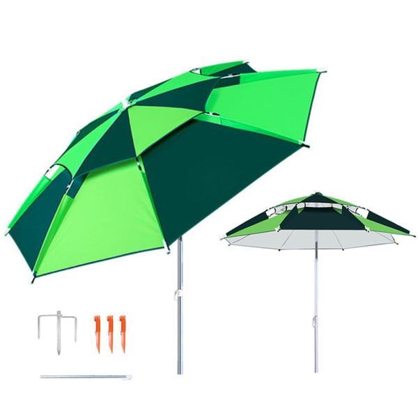 パラソル チルト機能付 角度調節 折り畳み式 シルバーコーティング UVカット アルミ製 椅子用傘 コンパクト収納 360度回転 炭素繊維の|idr-store|06