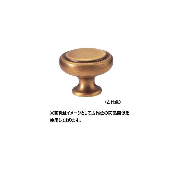 丸喜金属 B-133 305 古代色 真鍮 ハカタつまみ(裏ビス) サイズ:30 1個