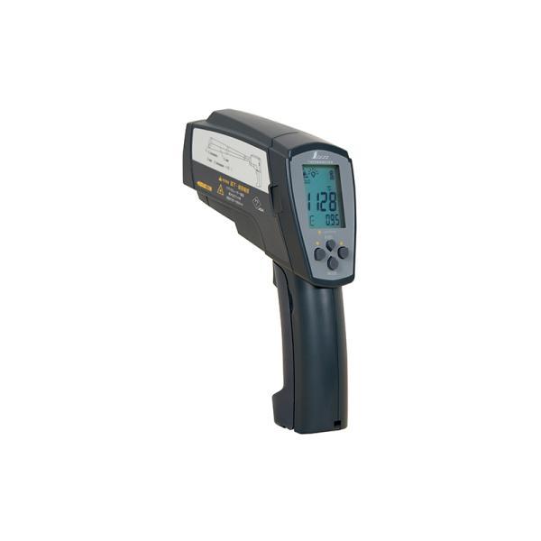 シンワ測定 73100 放射温度計H高温測定用デュアルレーザーポイント機能付放射率可変タイプ