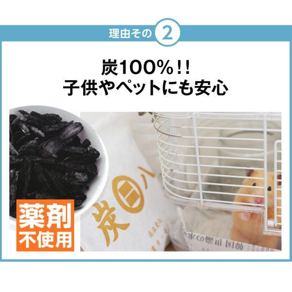 炭八 除湿剤 湿気 結露 消臭 小袋 5個セット スマート|ienolabo|05