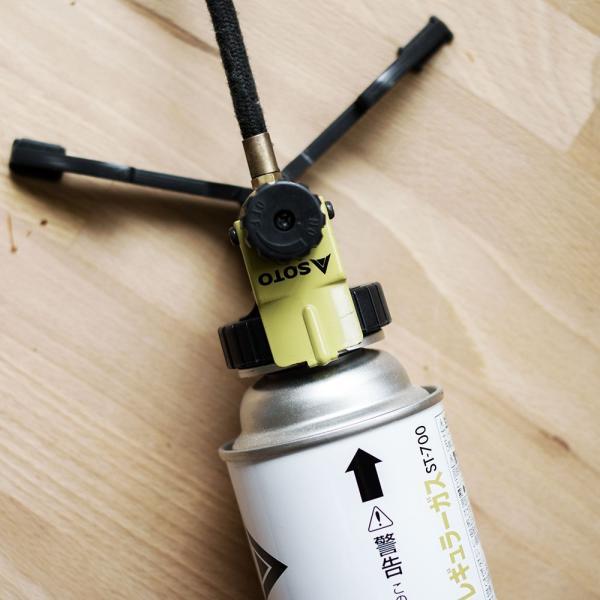 ST-301 SOTO シングルバーナー 新富士バーナー ソト コンロ アウトドア キャンプ トレッキング 登山 CB缶|ienolabo|03