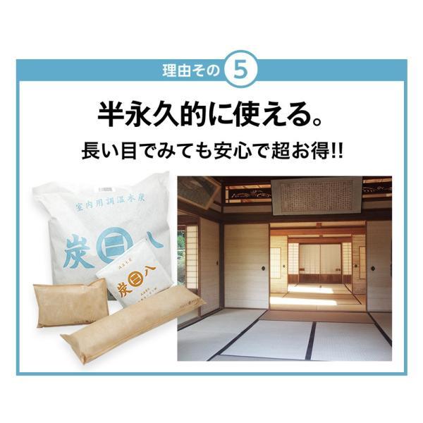 炭八 除湿剤 達人が選ぶ 炭八セット 室内 3L|ienolabo|12