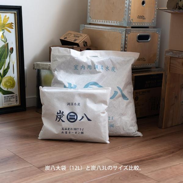 炭八 除湿剤 達人が選ぶ 炭八セット 室内 3L|ienolabo|19