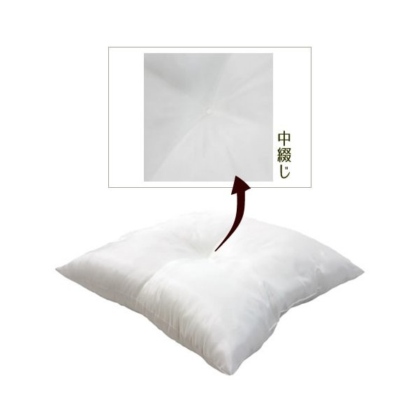 座布団中身(ポリエステル)55×59cm 銘仙判 座布団タイプ 2枚セット 送料無料|ifabric|02