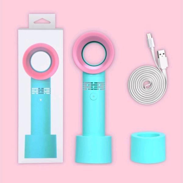 コンパクト 花火大会 扇風機 ミニ扇風機 卓上 扇風機 USB 携帯用 アウトドア 羽根なし 手持ち 充電可能 小型 携帯 ファン 手持ち型 携帯扇風機 可愛い igenso 10