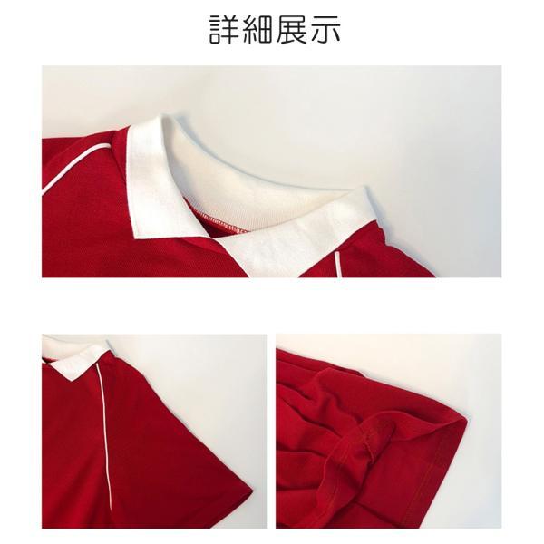 レディース 体型カバー ワンピース プリーツ レディースファッション 夏 半袖 T−シャツ igenso 02