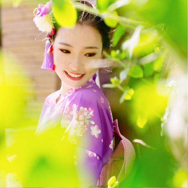 女性浴衣 選べる2柄 浴衣セット (浴衣+帯) 桜 花火大会 夏祭り 2点セット 可愛い|igenso|10