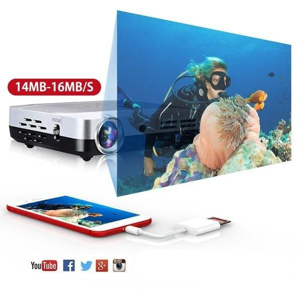 iPhone SD カード リーダー Micro SD カード リーダー OTG機能 写真とビデオ伝送 メモリー スティック Lightning ライトニング SD カード カメラ リーダー|igenso|06