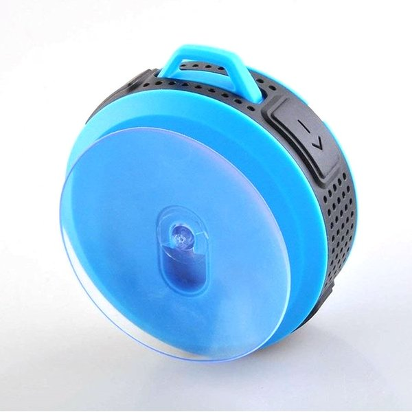 ポータブル防水屋外 ワイヤレス Bluetoothスピーカー C6 Suctingコンピュータの携帯電話のスピーカーサポートTFカード|igenso|09
