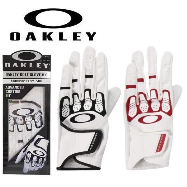 オークリーゴルフグローブOAKLEYGolfGlove5.0FOS900492左手用メンズ手袋 メール便配送(4枚)