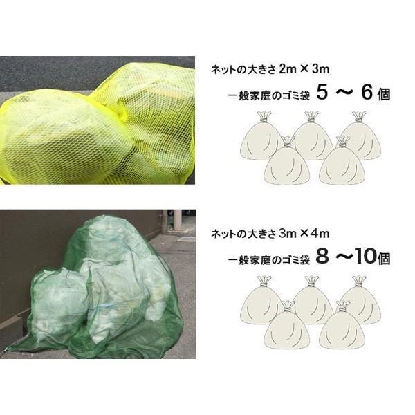 ゴミカバーネット 護美ガードネット(ゴミネット) 4mm目 2×3m ブルー BL400|igogochi|03