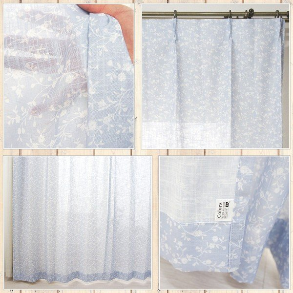 リネン風カーテン CH720 チコリ サイズオーダー巾151〜200cm×丈101〜150cm 1枚|igogochi|03