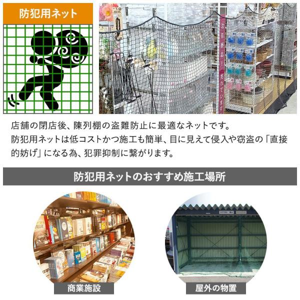 NET31 防犯 盗難防止ネット 巾501〜600cm 丈201〜300cm|igogochi|04