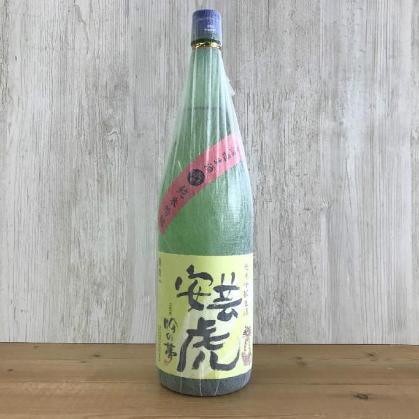 日本酒 高知 安芸虎 純米吟醸 吟の夢 無濾過生酒 1800ml (新特)父の日|igossou-sakaya