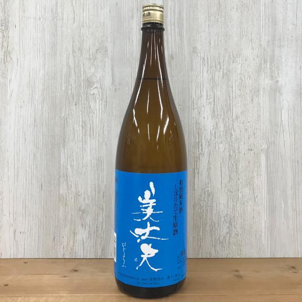 日本酒 高知 美丈夫 特別純米 しぼりたて生原酒 1800ml (新特)|igossou-sakaya|02