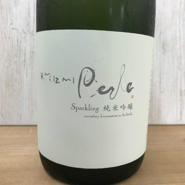 日本酒 高知 亀泉 Sparkling 純米吟醸  Perle -ペルル- (お歳暮 冬ギフト お年賀)(クリスマス 女子会 パーティー)|igossou-sakaya
