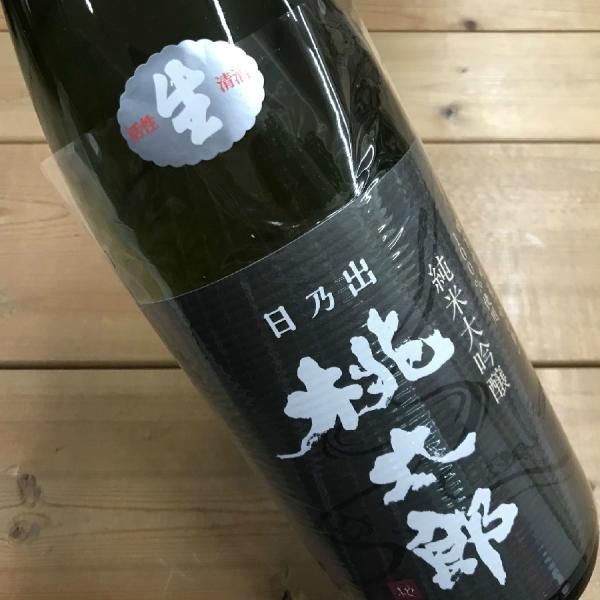 日本酒 高知 日乃出桃太郎 純米大吟醸 生 1800ml (新特)|igossou-sakaya|01