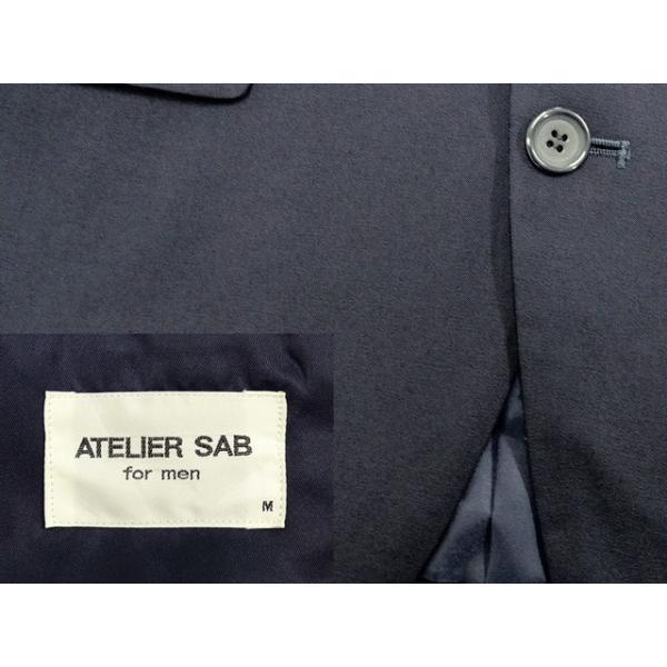 ATELIER SAB スーツ メンズ Y6体 シングルスーツ メンズスーツ 男性用/中古/訳あり/ビジネススーツ/SBCD01|igsuit|03