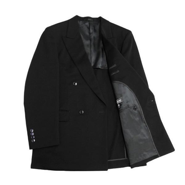 MIYUKI スーツ メンズ A6体 礼服 喪服 フォーマルスーツ ダブル メンズスーツ 男性用/40代/50代/60代/ファッション/中古/083/SBGX10|igsuit|03